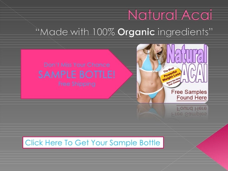 Don't Miss Your Chance SAMPLE BOTTLE! Free Shipping Click Here To Get Your Sample Bottle