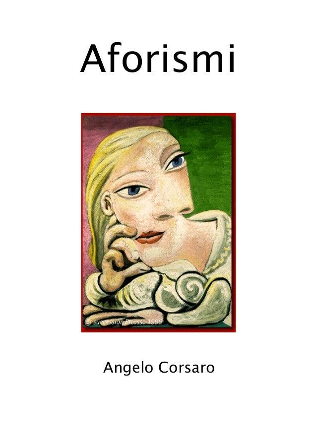 1 Aforismi Angelo Corsaro