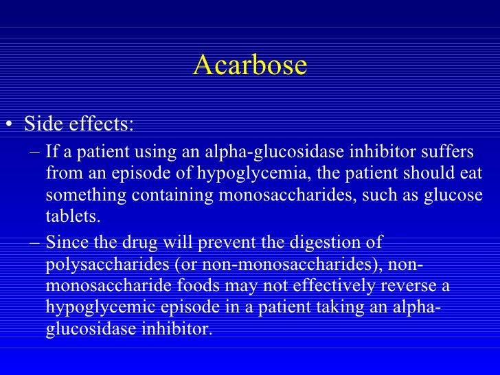 Acarbose Side Effects Flatulence