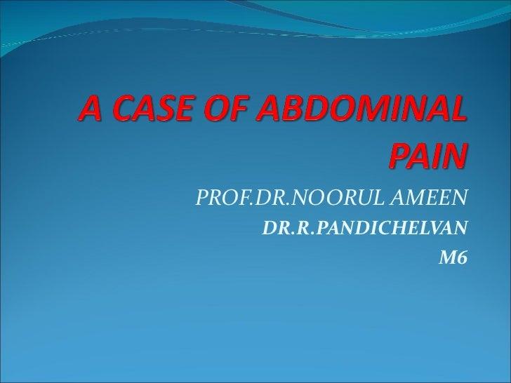 PROF.DR.NOORUL AMEEN DR.R.PANDICHELVAN M6