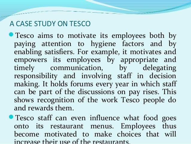 motivation case studies organization