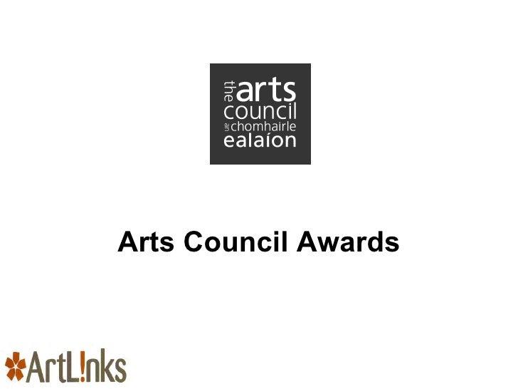 Arts Council Awards