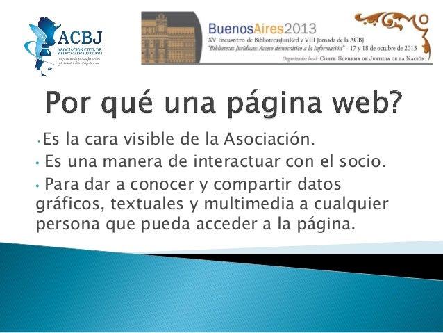 Acbj 2013 web   maría silvia