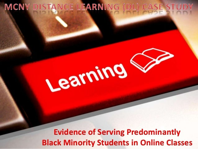 Evidence of Serving Predominantly Black Minority Students in Online Classes