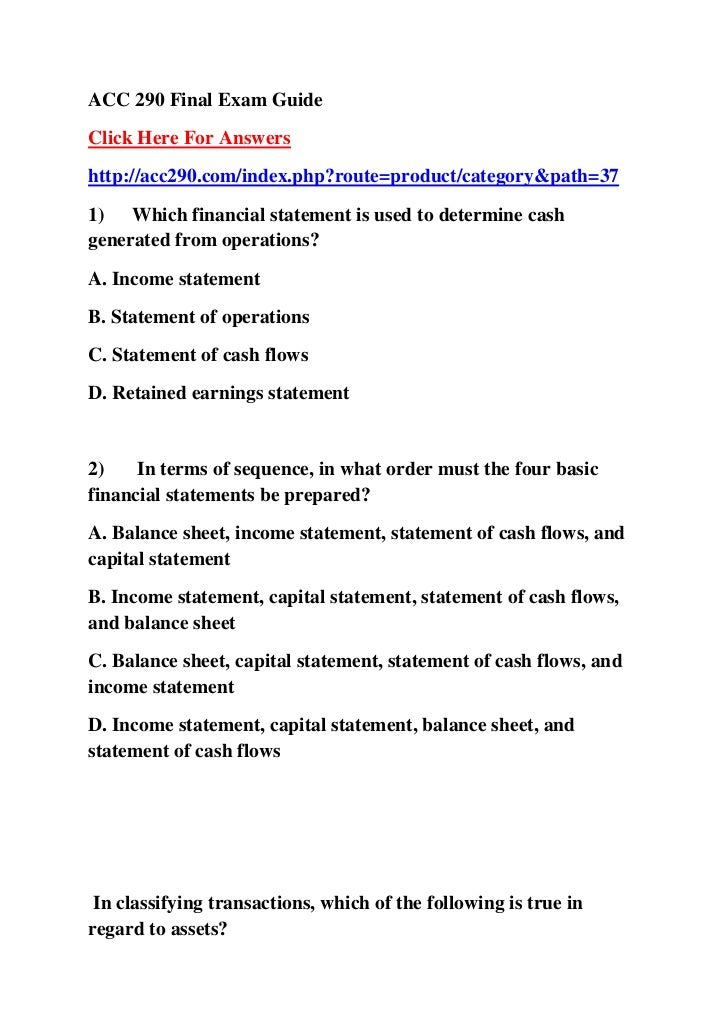 final exam guide Resources unit leader final exam final exam - instructor version (students need to score at least a 70% or better to pass the final exam) final exam answer key page 1 of 3.