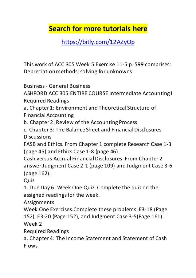 intermediate accounting chapter 1 exercises