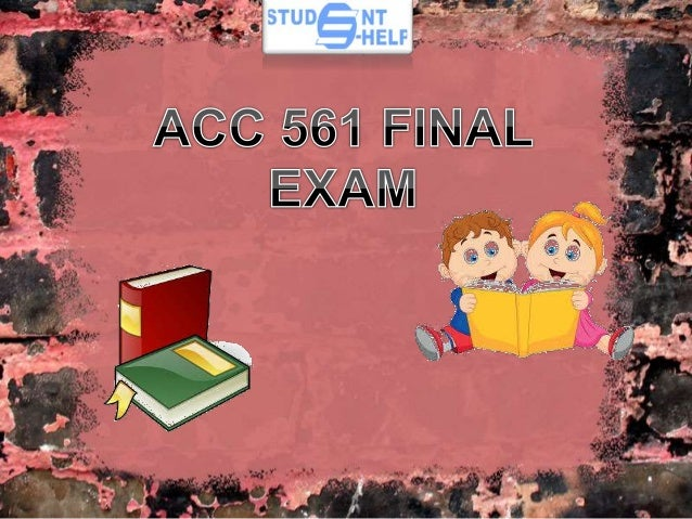 acc 561 13 8 Acc 561 entire course ¬for more classes visits wwwindigohelpcom acc 561 week 1 wileyplus assignment be 1-7, be 1-8 acc 561 week 1 individual assignment financial statement review acc 561 week 1 wileyplus practice quiz acc 561 week 2 individual assignment sarbanes-oxley act of 2002 acc 561 week 2 learning team reflection ( comparative and.