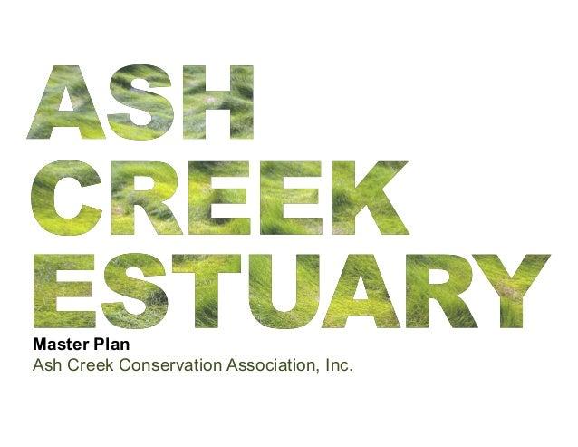 Ash Creek Ecological Master Plan - Phase I
