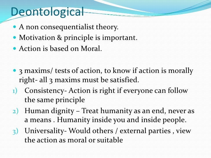 non consequentialist theory essay Consequentialism the results wd ross also integrated virtue into his theory as to delineate the camps consequentialism and non-consequentialism.