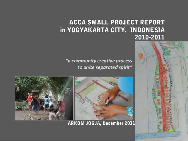 Tata Kampung Yogya with ACCA