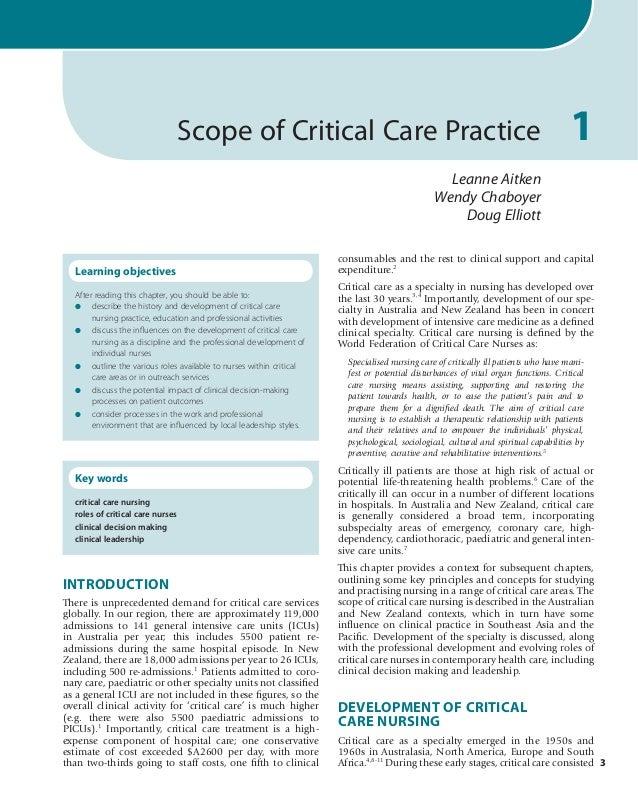 critical care nurses aacn mission statement