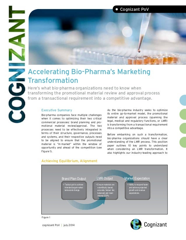 Accelerating Bio-Pharma's Marketing Transformation Here's what bio-pharma organizations need to know when transforming the...