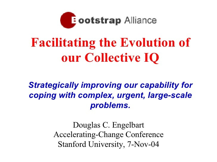 Facilitating the Evolution of our Collective IQ