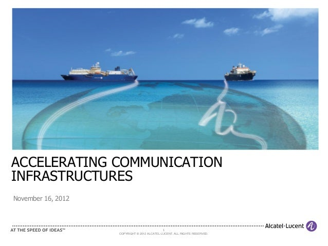 Accelerating Communication Infrastructures