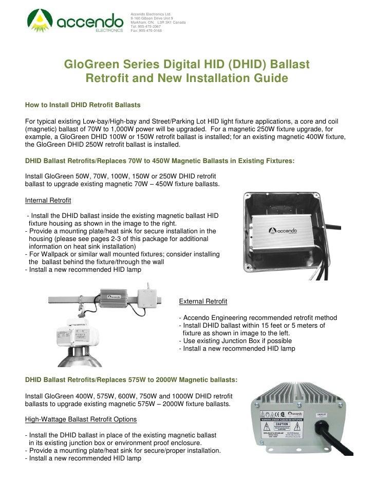 Accendo Electronics Ltd.                                     9-160 Gibson Drive Unit 9                                    ...