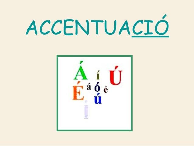 ACCENTUACIÓ