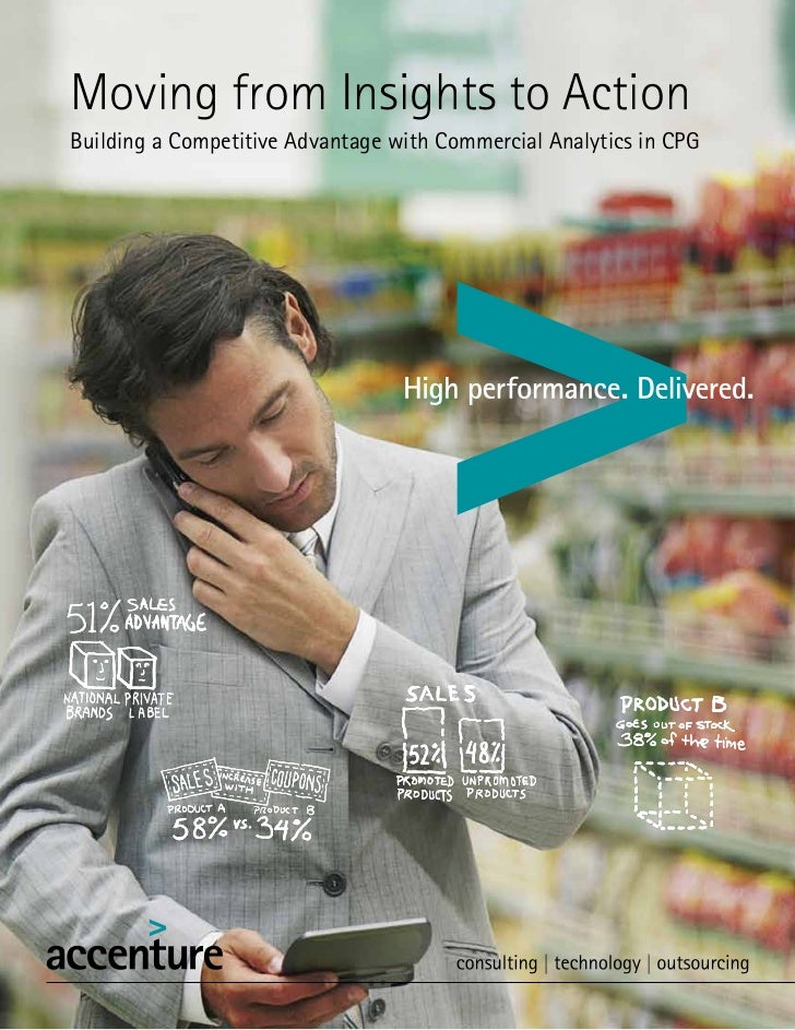 Accenture: Commercial analytics insights CPG Companies 27-7-12