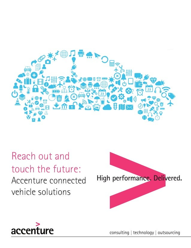 Reach out and touch the future: Accenture connected vehicle solutions