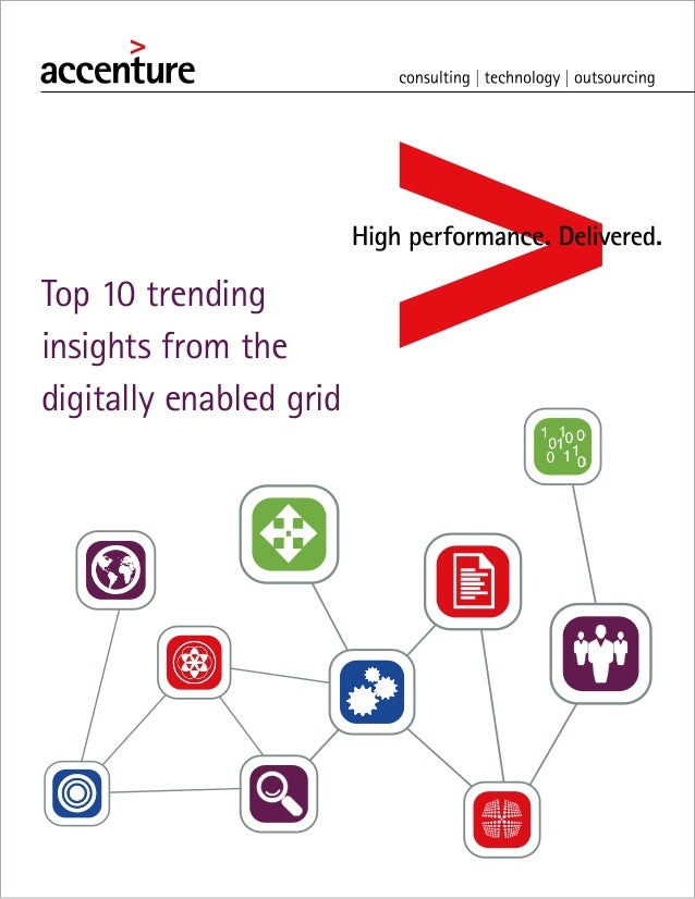 Top 10 trending insights from the digitally enabled grid