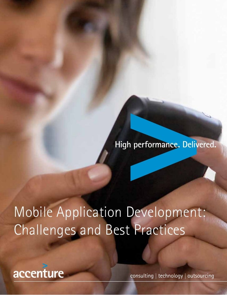Mobile Application Development:Challenges and Best Practices