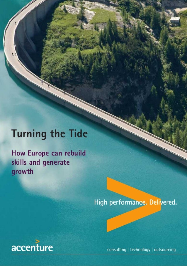 Turning the Tide How Europe can rebuild skills and generate growth