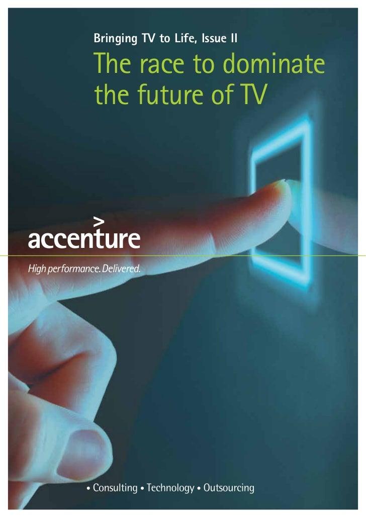 Accenture Future of TV