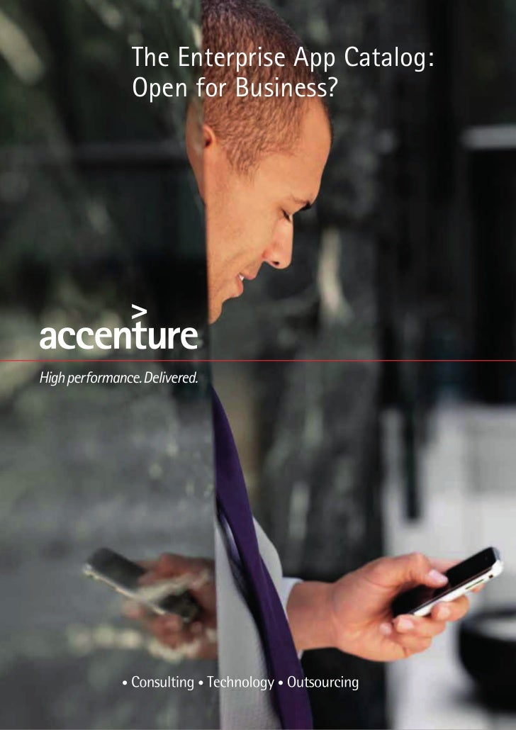 Accenture Enterprise App Catalog - OnDemand Afaria MDM offer as Fully Managed Service