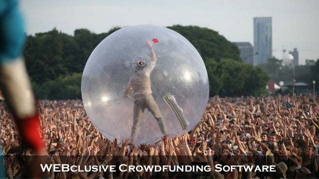 WEBclusive Crowdfunding Software