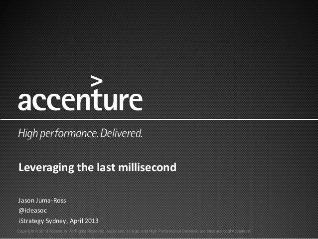 Accenture presentation sydney for Accenture sydney