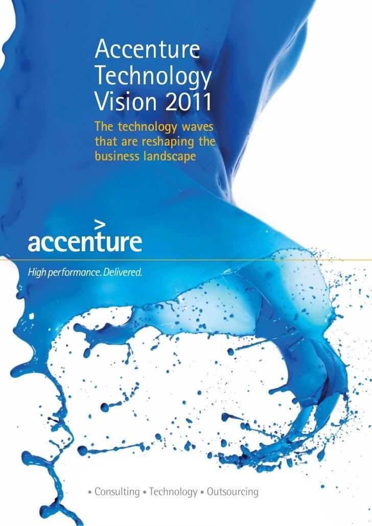 Accenture Tech Vision2011 Report V6 1901