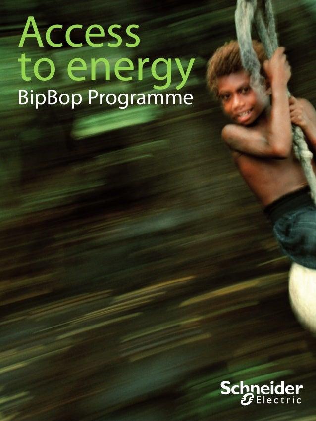 Accessto energyBipBop Programme