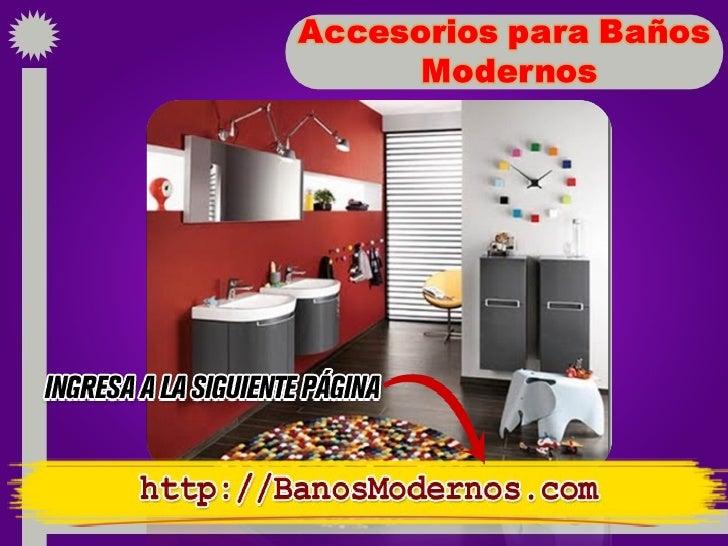 Accesorios de ba o modernos for Accesorios de bano economicos