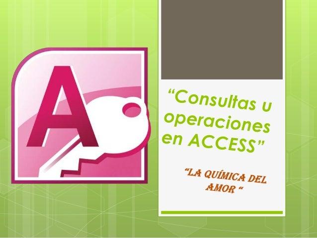  Para crear consultas en Access lo primero quedebemos hacer es crear nuestra tabla dondetendremos la información, en este...