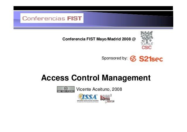 Access Control Management