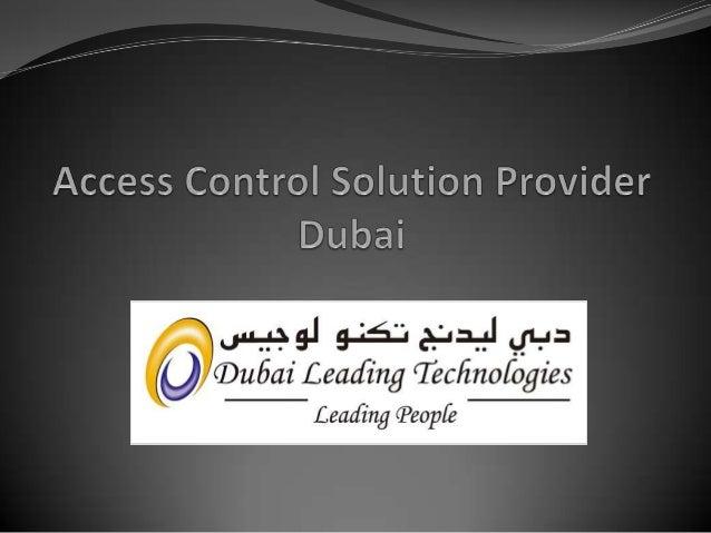 Access control solutions dubai