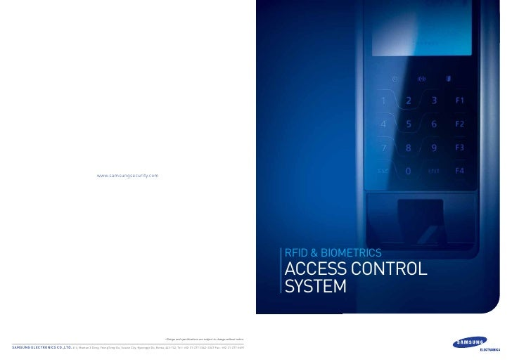 Access control system_samsung