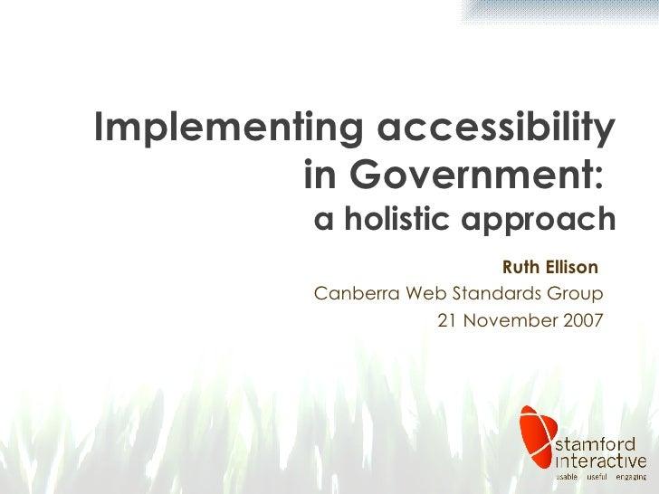 Accessibility In Government   Wsg   Nov 2007