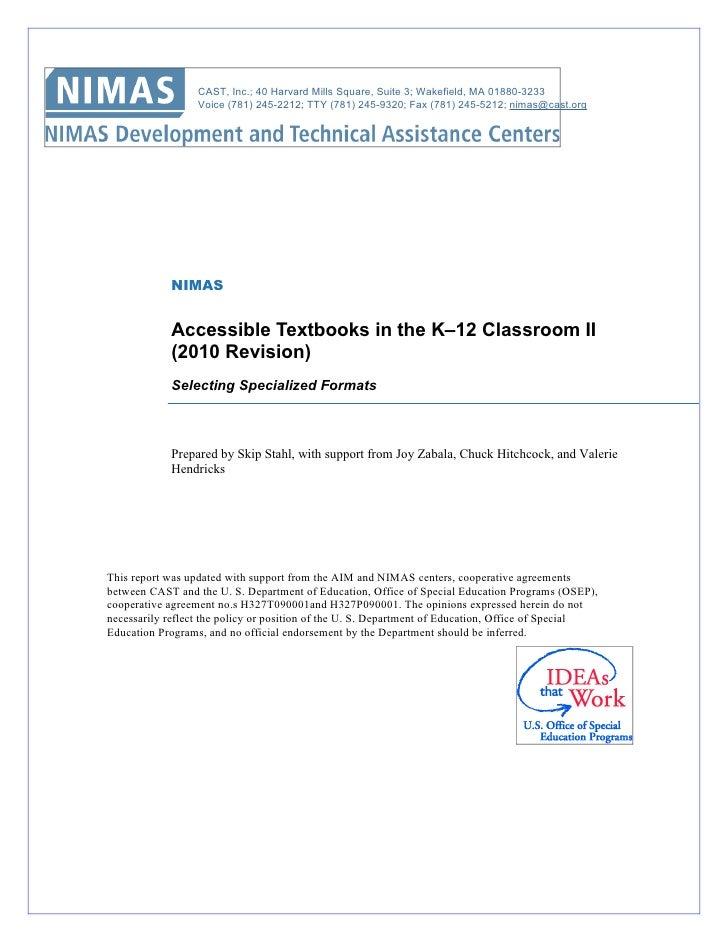 Accessible.textbooks.classroom ii.11.12.10