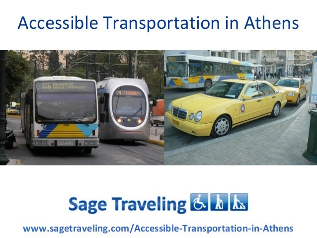Accessible Transportation In Athens
