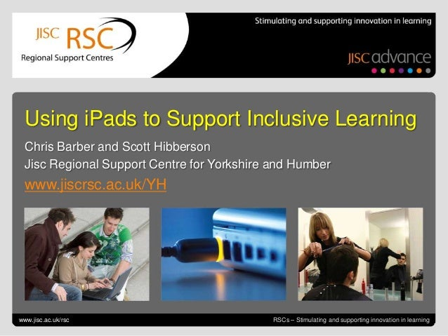 iPads and Accessibility