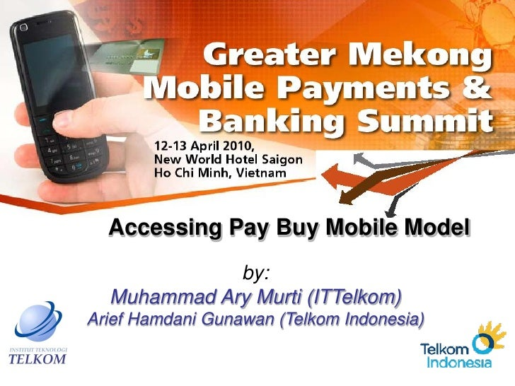 Accessing pay buy mobile model