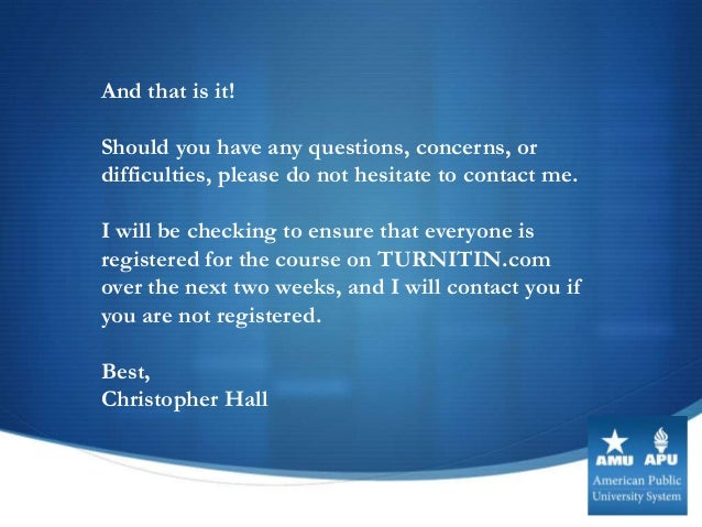 Have you ever heard of the website www.turnitin.com?