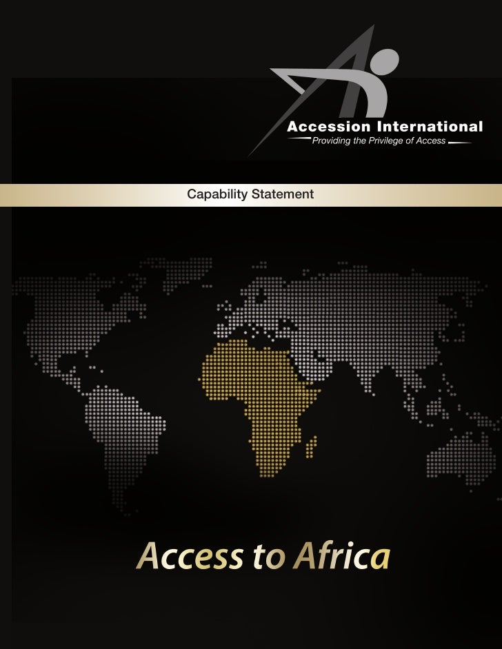 Accession Intl Capabilities Statement - 2011