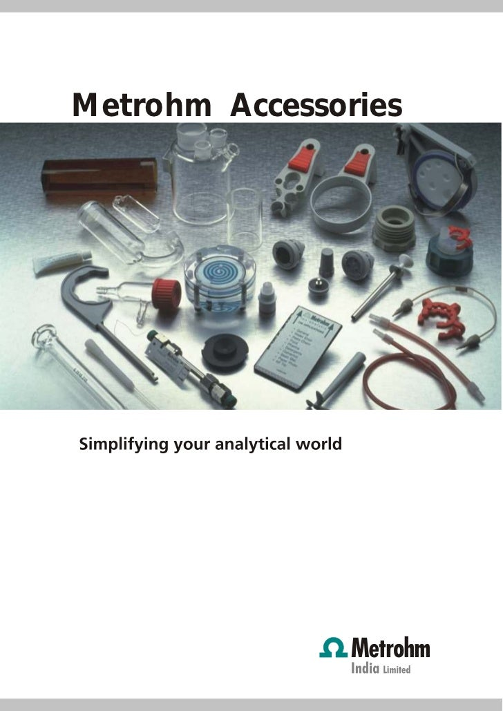Accessories by Metrohm India