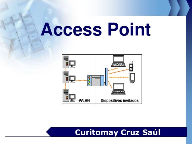 Access PointCuritomay Cruz Saúl