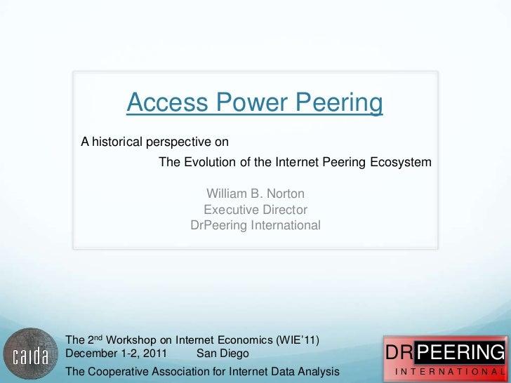 Access Power Peering