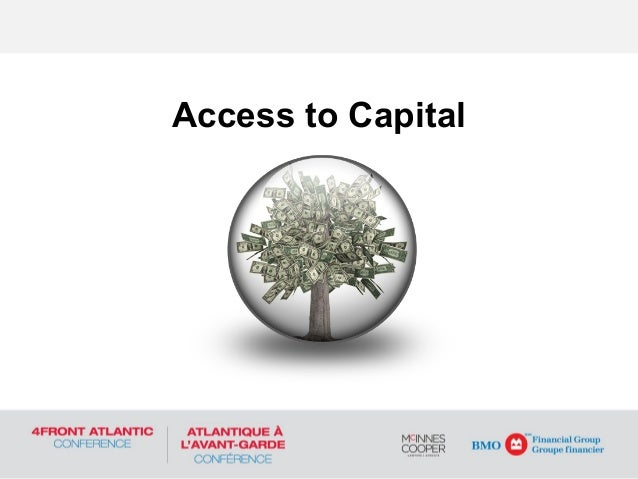 Access to Capital