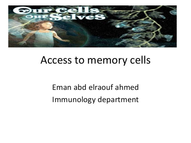 Access to memory cells