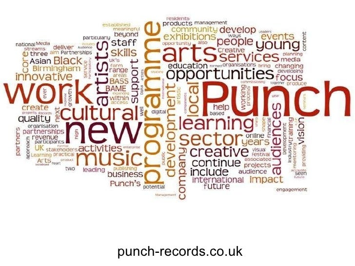 Access to music punch pitch