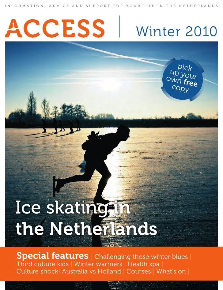 INFORMATION   ,   ADVICE AND SUPPORT FOR YOUR LIFE IN THE NETHERLANDS                                            winter 20...